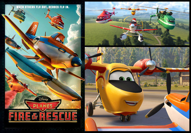 Planes Fire & Rescue - Roberts Gannaway (USA)