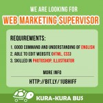 web marketing supervisor