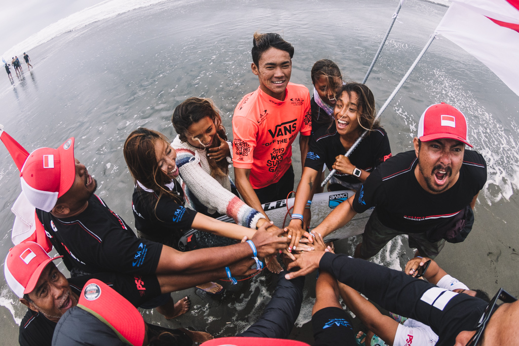 Indonesia Team ISA World Surfing Games