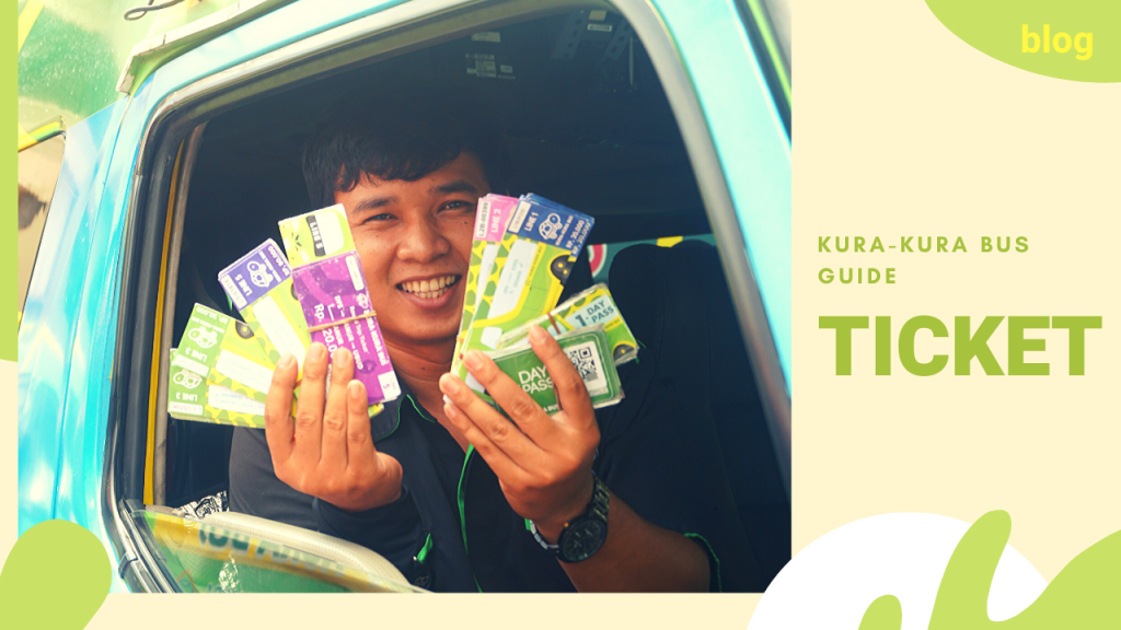 Kura-kura-bus-guide-ticket