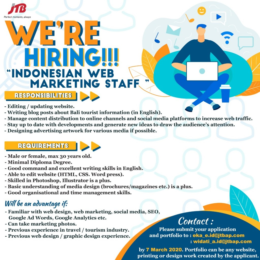 Open Recruitment Staff