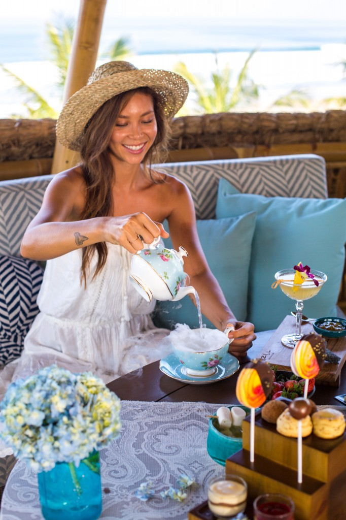 Azul Beach Club has gone a little mad and decided to mix exotic teas with classic liquor and a little imagination